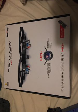 Drone - Discovery UDI R/C New with Built on HD Camera for Sale in Ashley, OH