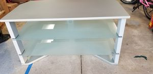 3 Tier TV Stand w/ Glass Shelves for Sale in Westminster, CO