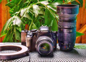 Canon Rebel XSI lens ringlight for Sale in Tampa, FL