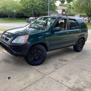 2002 Honda Cr-v for Sale in Denton, TX