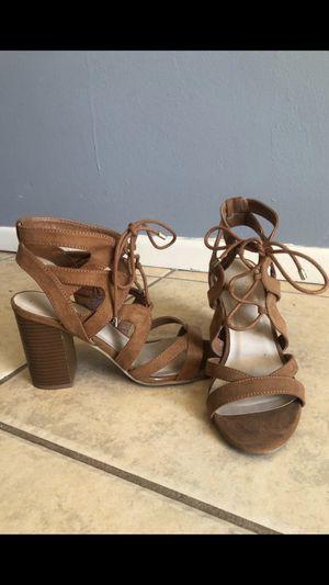 Brown Chunky Heel 7.5 for Sale in Santa Ana, CA