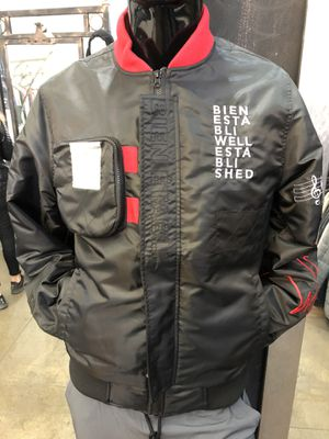 Men's bomber jacket establish collection size large and XL for Sale in Los Angeles, CA