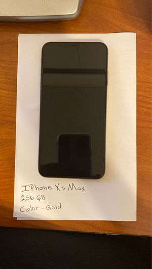 iPhone XS Max for Sale in Diamond Bar, CA