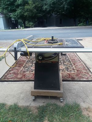 Craftsman table saw for Sale in Kennesaw, GA
