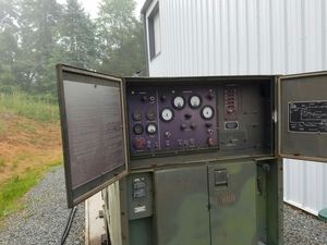 Consolidated Deisel Electric 100kw Generator 1974 3406 Cat. for Sale in Crozet, VA