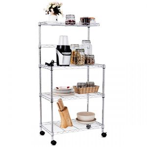 3-Tier Kitchen Microwave Baker Stand Storage Cart Rack for Sale in Rosemead, CA