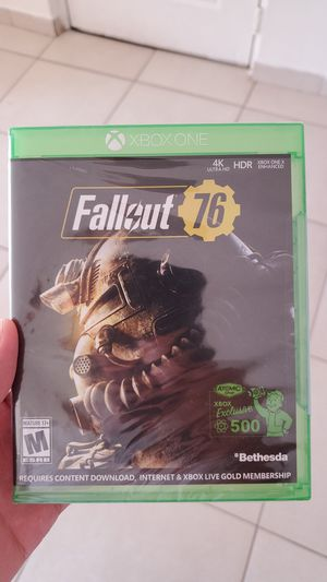 Xbox one Fallout 76 brand new still wrapped for Sale in Miramar, FL
