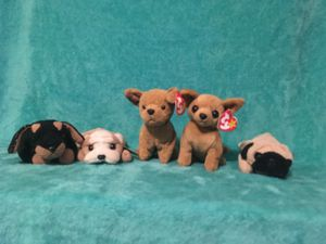 Dogs Ty's beanie babies for Sale in Orlando, FL