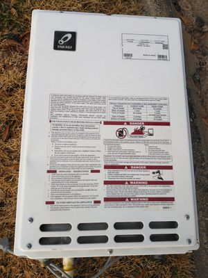 Tankless water heater gas for Sale in Raleigh, NC