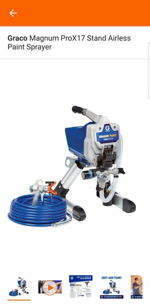 Graco Magnum ProX17 Stand Airless Paint Sprayer for Sale in Sacramento, CA