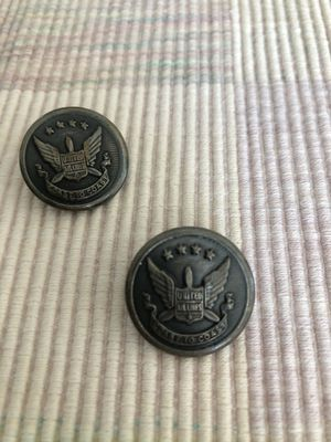 Vintage United Airlines Buttons for Sale