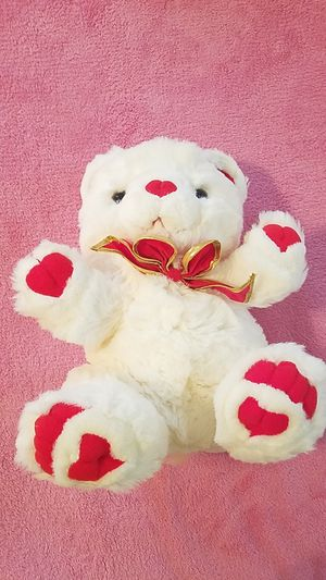 Brand new Valentine's day white bear for Sale in Williamsport, PA