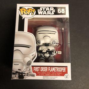 Star Wars - Funko Pop - First Order Flametrooper for Sale in San Antonio, TX