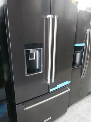 Kitchen Aid french door in dark stainless for Sale in Covina, CA