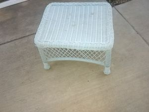 Outdoor ottoman or side table for Sale in Glendale, AZ