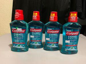 Colgate enamel health mouthwash 16.9 oz $2 each for Sale in Moreno Valley, CA