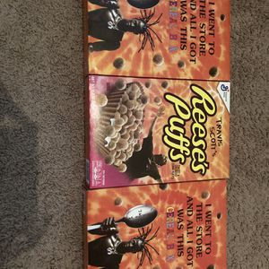 Travis Scott Cereal Boxes for Sale in Zephyrhills, FL