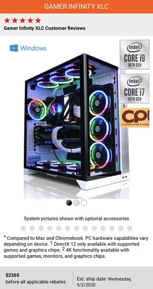 Custom PC for Sale in Franklin, IN