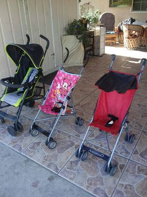 All strollers for 20 good condition for Sale in Phillips Ranch, CA