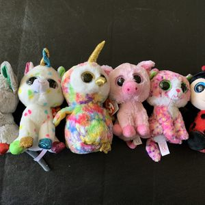 6 Ty Beanie Boos for Sale in San Rafael, CA