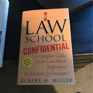 Paperback - Law School Confidential for Sale in Camp Hill, PA
