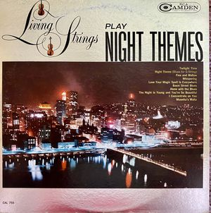 "Living Strings ""Play Night Themes"" Vinyl Album $10 for Sale in Ringgold, GA"