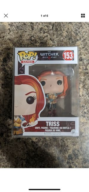 Triss Witcher 3 funko pop Netflix for Sale in Moreno Valley, CA