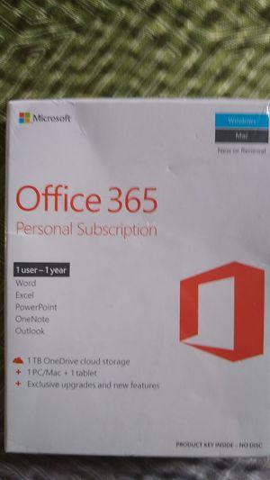 Microsoft Office 365 Personal Subscription for Sale in Alexandria, LA