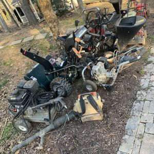 A Bunch Of Small Engines, Generators, Power Washers, Riding Mowers, Tillers, Leaf Blowers, snow Blowers, Etc for Sale in Burke, VA