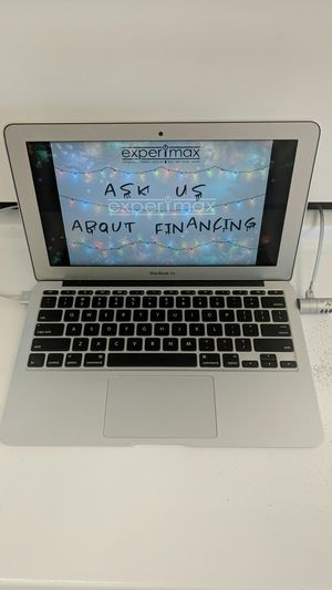 MacBook Air w/1 year warranty and financing options for Sale in Fort Myers, FL