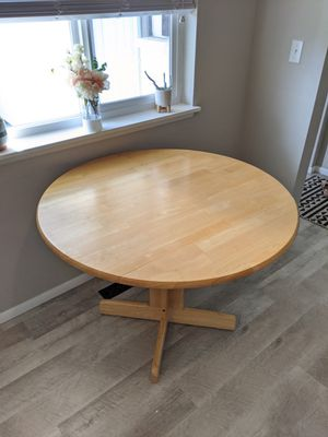 Wood Dining Table for Sale in Puyallup, WA