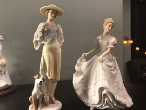 Beautiful porcelain figurines for Sale in Naperville, IL