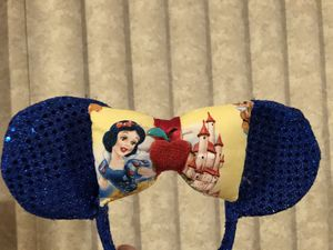 Disney Snow White Sequin Ears for Sale in Hollywood, FL