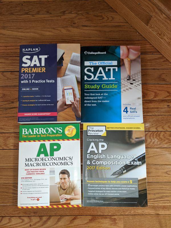 Brand New SAT and AP prep books
