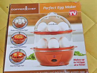 Copper chef perfect egg maker makes up to a dozen eggs. Perfect condition never used. for Sale in Commerce,  GA