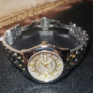 Men's luxury watch automatic movement full tungsten steel white dial ⌚ for Sale in Los Angeles, CA