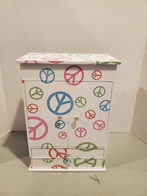 Peace theme jewelry box for Sale in Warrenton, VA