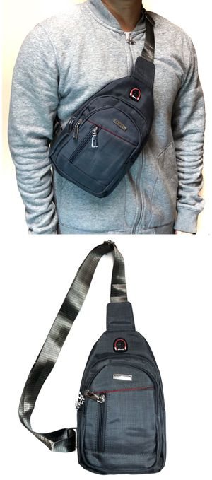 NEW! Cross Body Side Bag Backpack messenger satchel cell phone tablet holder wallet biking school bag work bag sling chest bag for Sale in Carson, CA