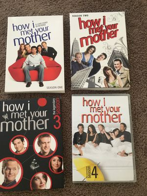 How I Met Your Mother Seasons 1-4 for Sale in North Attleborough, MA