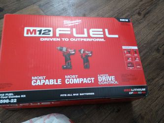 Milwaukee M12 Fuel Combo Kit for Sale in Oklahoma City,  OK