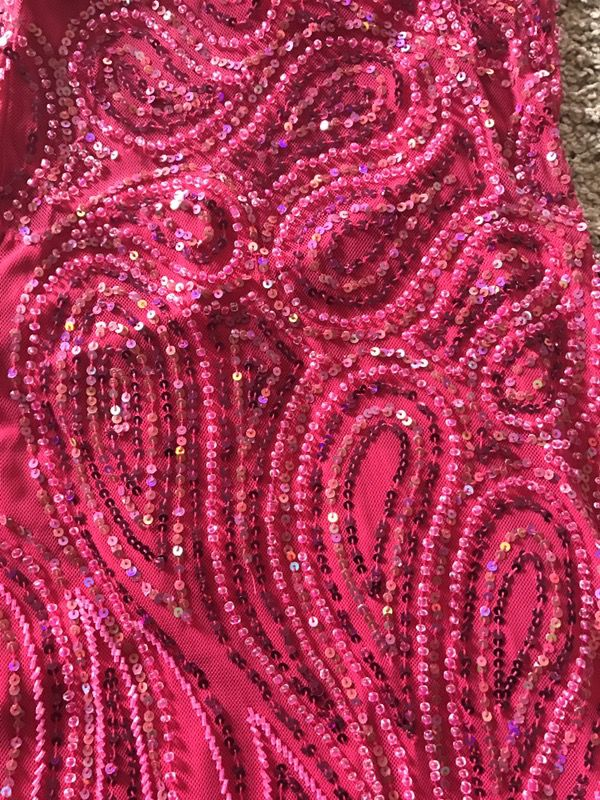 Halter prom dress size 2-4