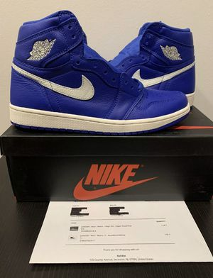 """Jordan 1 """"Hyper Royal"""" size 8.5 100% authentic Good Condition for Sale in Tampa, FL"""