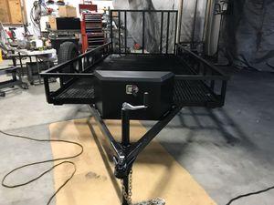 Custom Utility trailer 6'4x12' for Sale in Queen Creek, AZ