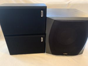 Infinity subwoofer/ Bose bookshelf speakers for Sale in North Royalton, OH