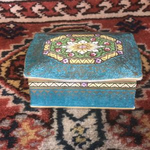 Minton England Painted Porcelain Dresser Box for Sale in Whittier, CA