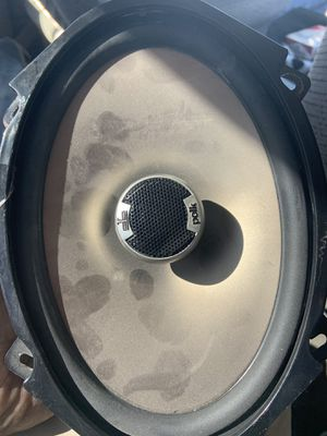 Polk audio speakers 5x7 great condition for Sale in North Las Vegas, NV