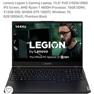"Lenovo Legion 5 Gaming Laptop 15.6"" for Sale in Signal Hill, CA"
