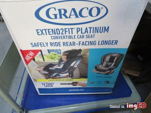 Brand new in box graco extend to fit platinum car seat for Sale in Washington, DC
