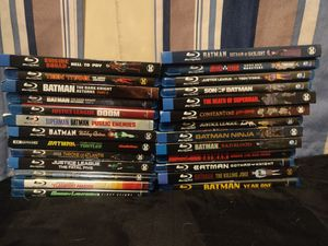 DC Animated Blu Ray lot for Sale in Concord, CA