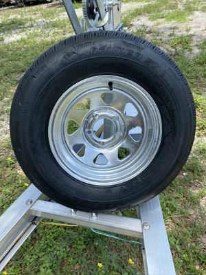 New205-75-14inch trailer tire and rim. $85/each for Sale in Davie, FL